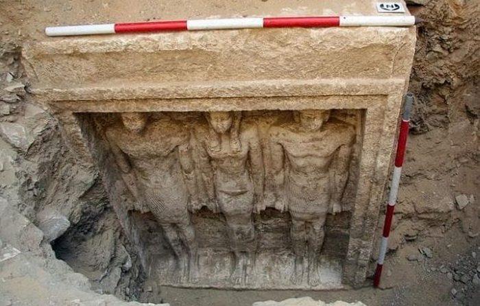 Могила неизвестной царицы Египта.